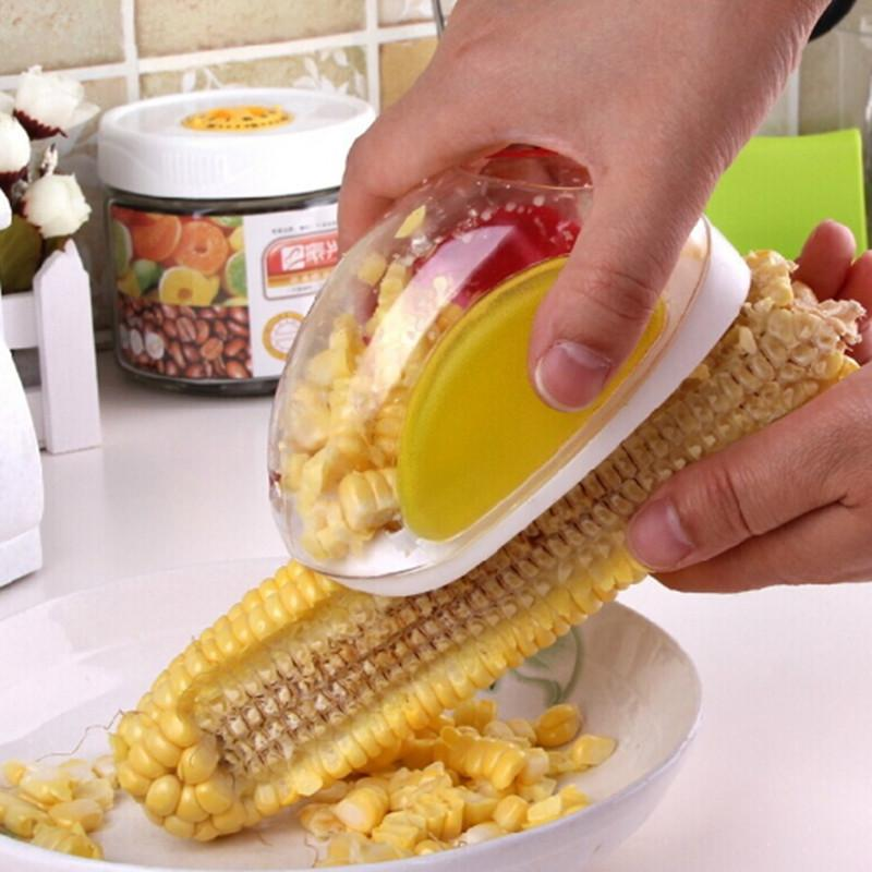 Magia Cozinhar Ferramentas Forma Do Carro Milho Stripper Facilitar Calos Separador Despojado Dispositivo Acessórios de Cozinha Gadgets removedor de peeler