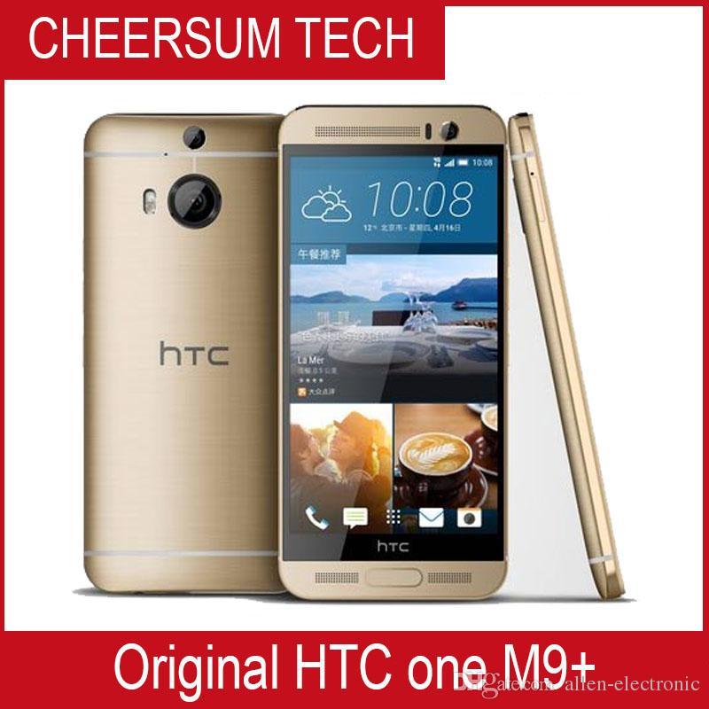"""شحن مجاني DHL HTC One M9 بلس ثماني النواة 2.2 جيجا هرتز 3 جيجا رام ذاكرة 32 جيجا بايت 20 ميجا بيكسل ثلاثي الأبعاد 5.2 """"SLCD 2560 * 1440 4G TDD FDD LTE Android 5 smartphone"""