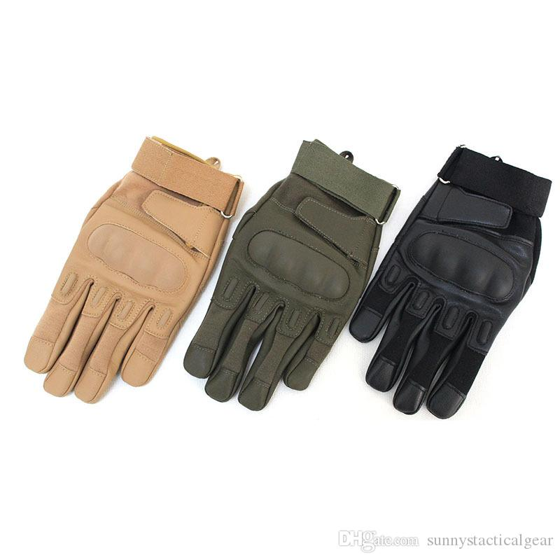 Outdoor Sports Motocycle Cycling Gloves Paintball Airsoft Shooting Hunting Tactical Full Finger Gloves NO08-057