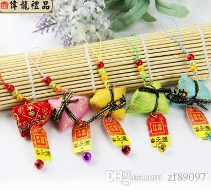 14 cm kokulu çanta çin ulusal asılı çanta çince zongzi dekorasyon festivali dekorasyon