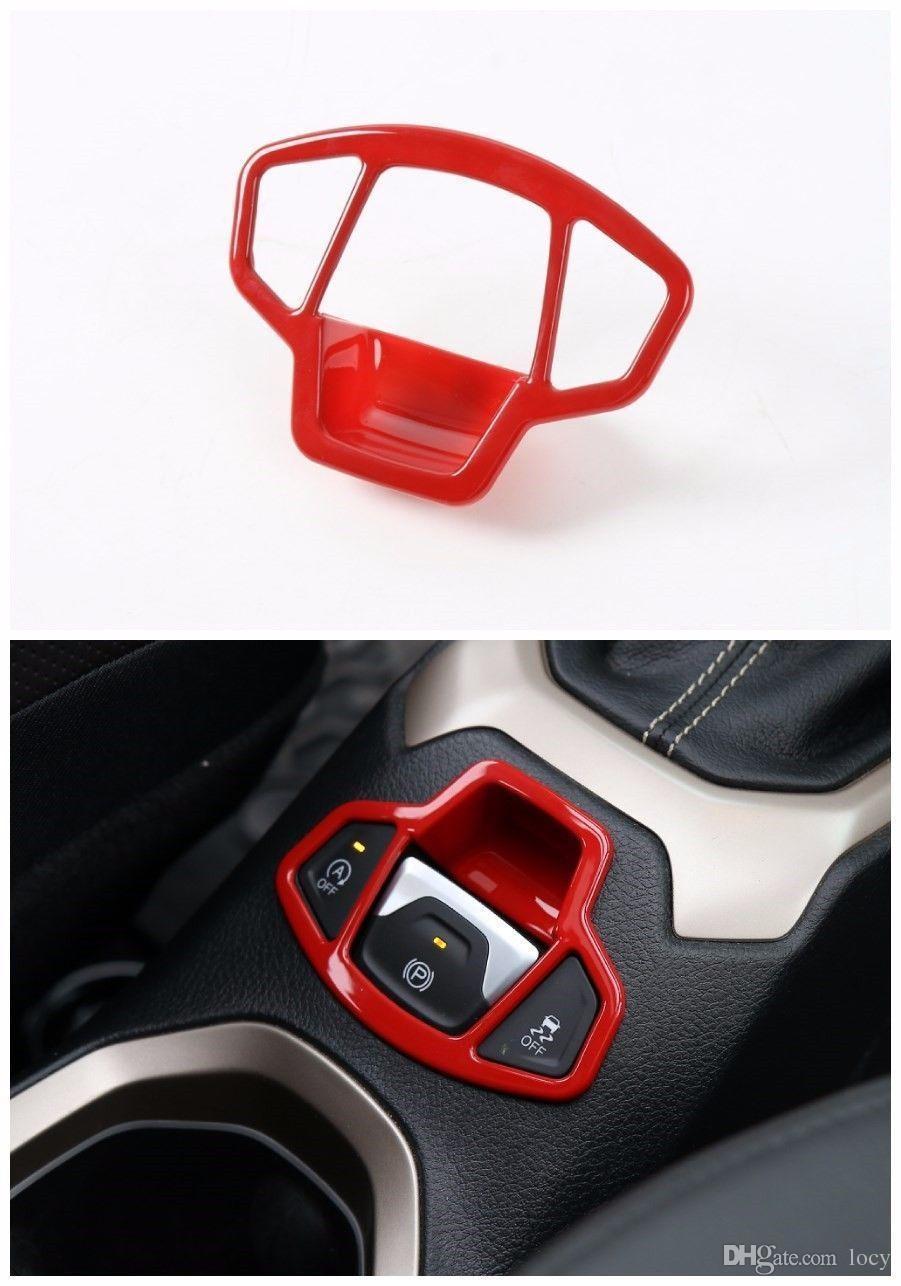 ABS Electronic handbrake decorative frame Trim for Jeep Renegade 15-16