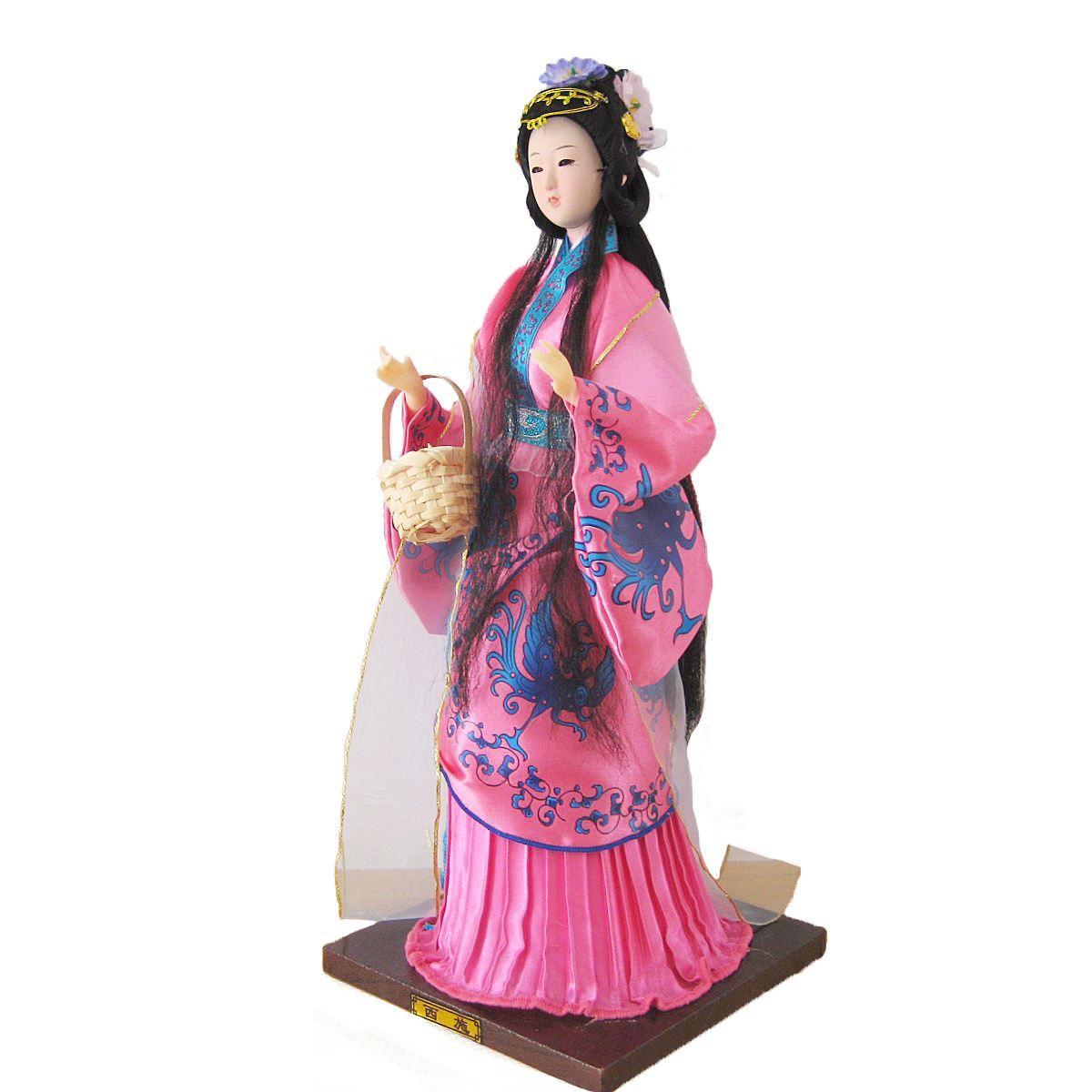 Post costume bambole Bobbi, fatto a mano * caratteristiche creative, regali agli stranieri, bellezza classica orientale Xi Shi