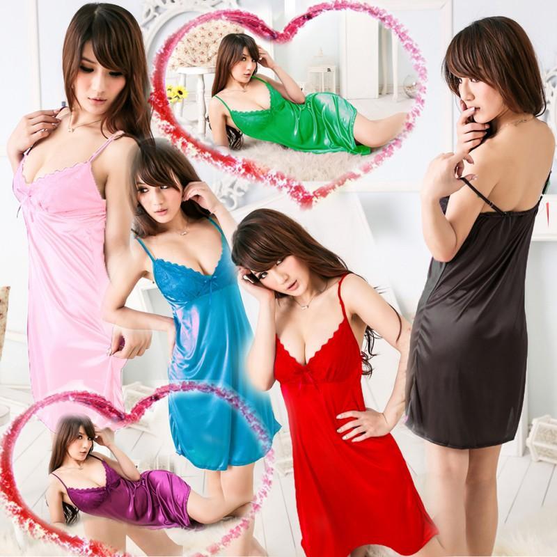 All'ingrosso- sexy donne lingerie vestito caldo sexy biancheria intima sleepwear g-stringa