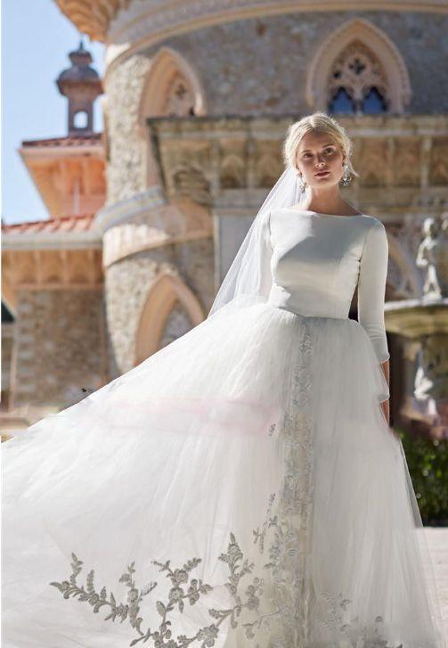Discount Modest Design Bohemian Princess Style Graceful Bridal Gowns ...