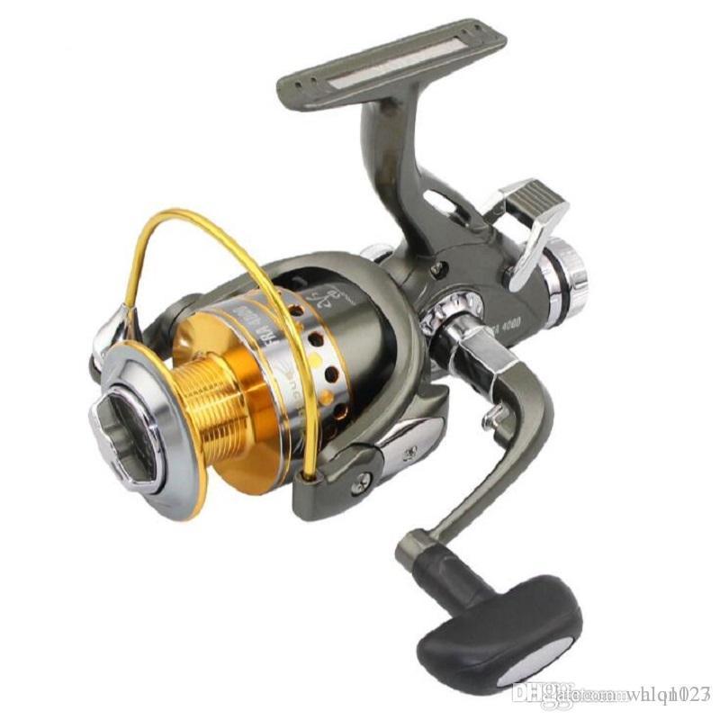 Nueva Fra Smooth giro del carrete de la pesca del carrete 9 + 1 BB Carp Fishing Bait Runner Carrete envío