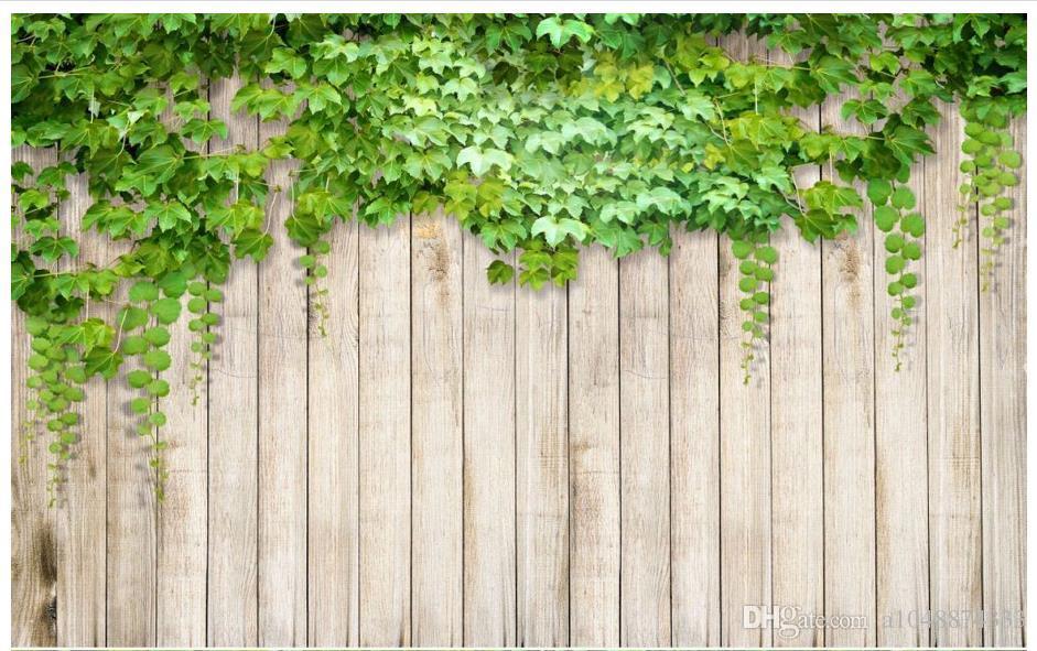 High End Custom 3d Photo Wallpaper Murals Wall Paper An Ivy On A Board 3d Living Room Wallpaper Background Wall Home Decor Thanksgiving Wallpaper The