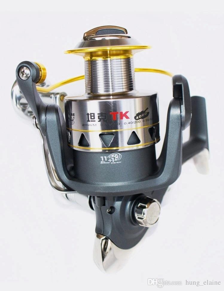 Quality Tk 4000 Fishing Reel 11+1BB Gear Ratio 4.5:1 casting fishing reel Lure Reel