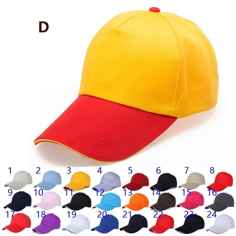 Hut diy stickerei baseballmütze angepasst werbung kappe benutzerdefinierte ente zunge freiwillige kappe großhandel druck logo