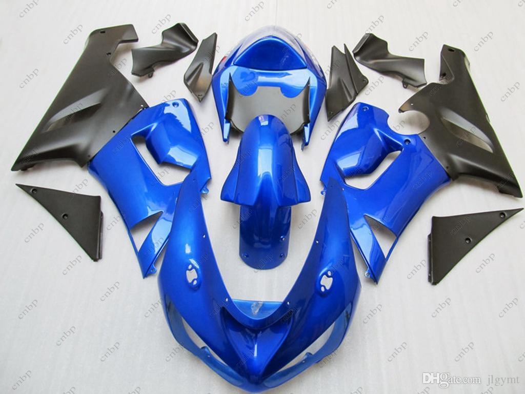 Carene in plastica per Kawasaki ZX6r 05 Kit completo per carrozzeria ZX6r 636 2005 Carrozze per carrozzeria 636 ZX-6r 2006 2005 - 2006