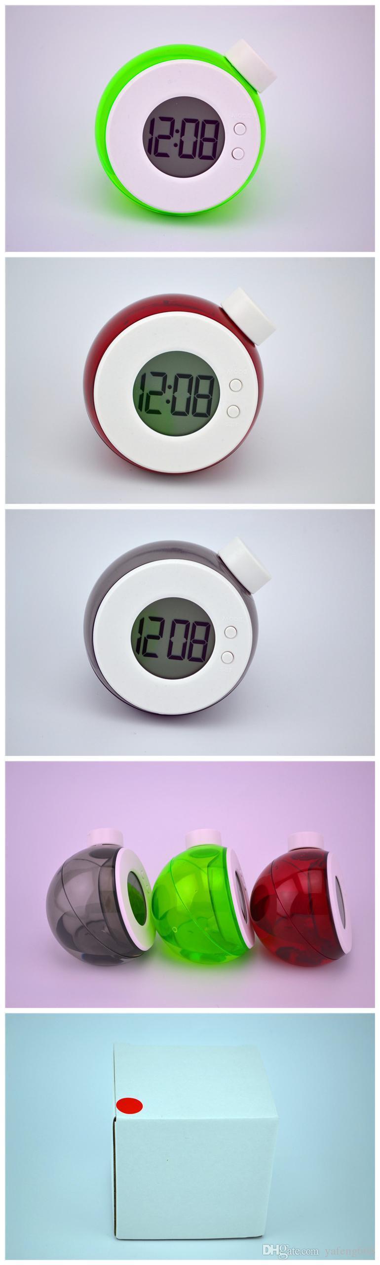 Creativo acqua orologio acqua elemento magico potere intelligente allarme creativo Creative Electronics