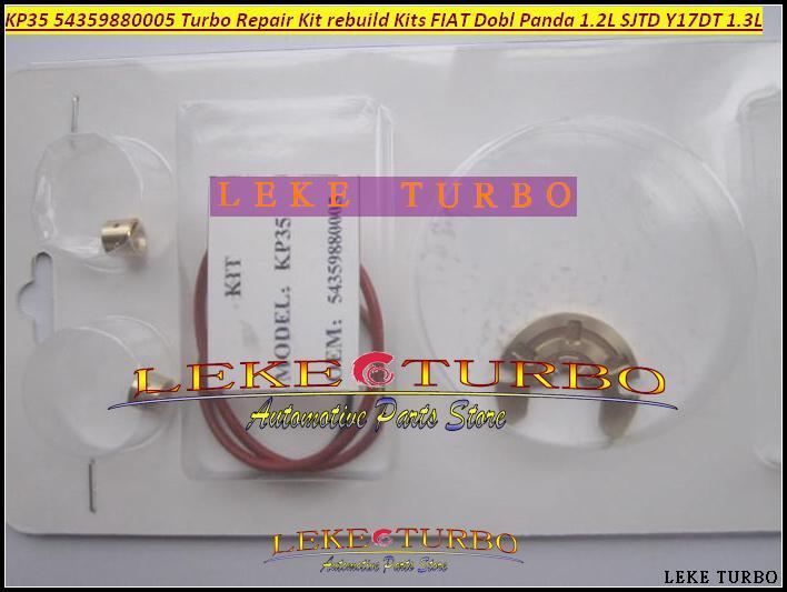 Turbo Reparatur Kit KP35 54359880005 54359700005 54359700006 54359700018 54359700019 Für FIAT Dobl Panda 1.2 SJTD Y17DT 1.3
