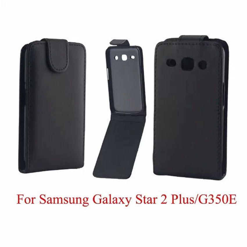 Téléphone Sacs Couverture Pour Samsung Galaxy Core Plus G350 Cas De Téléphone Retour Coque PU En Cuir Flip Vertical Up Down Peau Ouverte Peau Proposé ...
