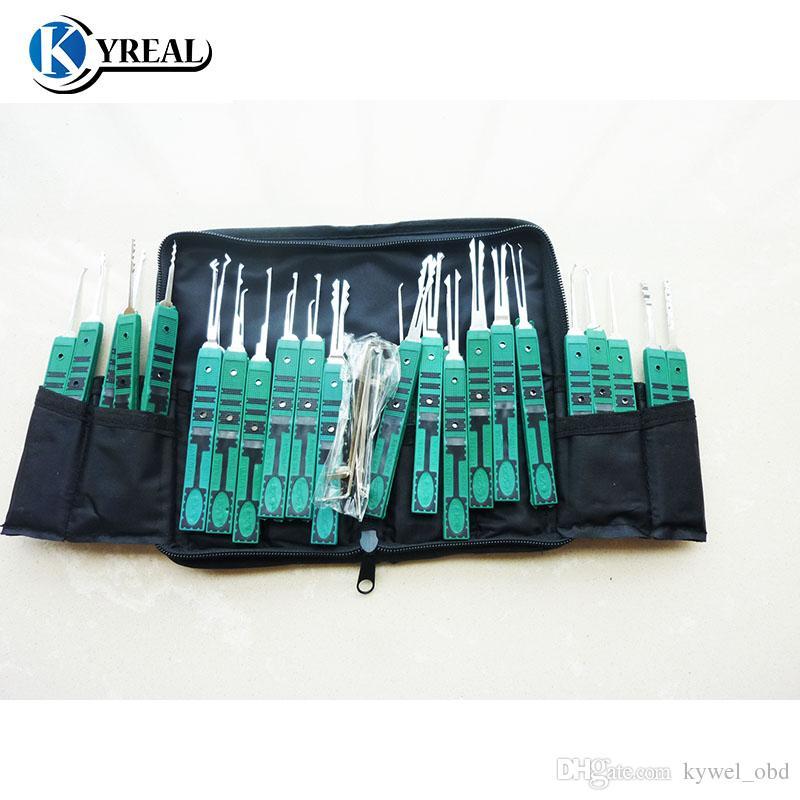 الأصلي klom 32 قطع قفل اختيار أداة متفوقة اختيار أدوات الأقفال شحن مجاني