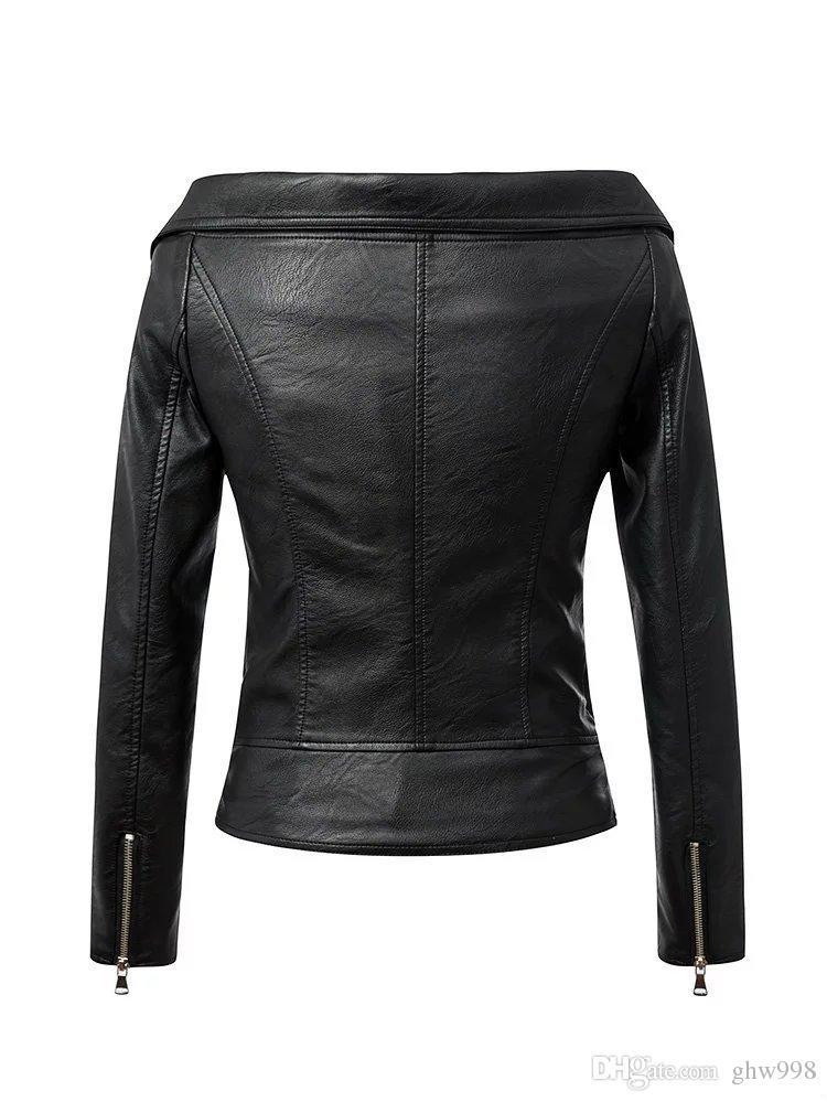 Locomotora palabra cremallera collar chaqueta sin tirantes sexy chaqueta de las mujeres de la manera envío gratis