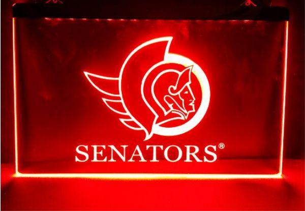 أوتاوا أعضاء مجلس الشيوخ الجديد بار حانة الصمام النيون الحرف ديكور المنزل