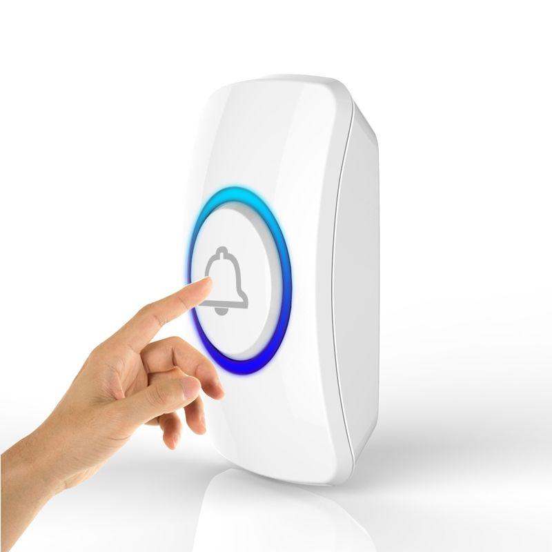Wireless Türklingel Taste für Willkommen Türklingel SOS Taste Panik Notruftaste für Home Security GSM Alarm System 433 mhz