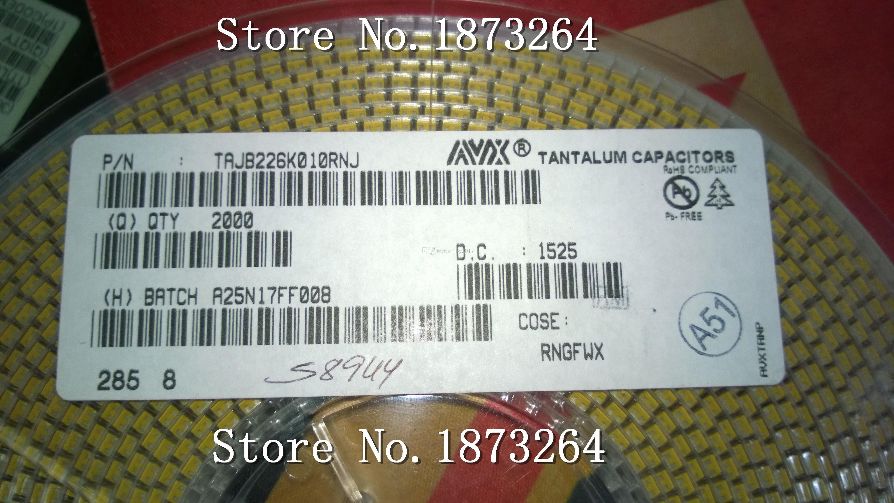Livraison gratuite TAJB226K010RNJ B 3528 22UF 10V 10% original et nouveau 100PCS / LOT