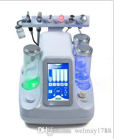 portable 6 en 1 oxygène spay jet facial diamant microdermabrasion soins de la peau diamant microdermabrasion rajeunissement microdermabrasion machine