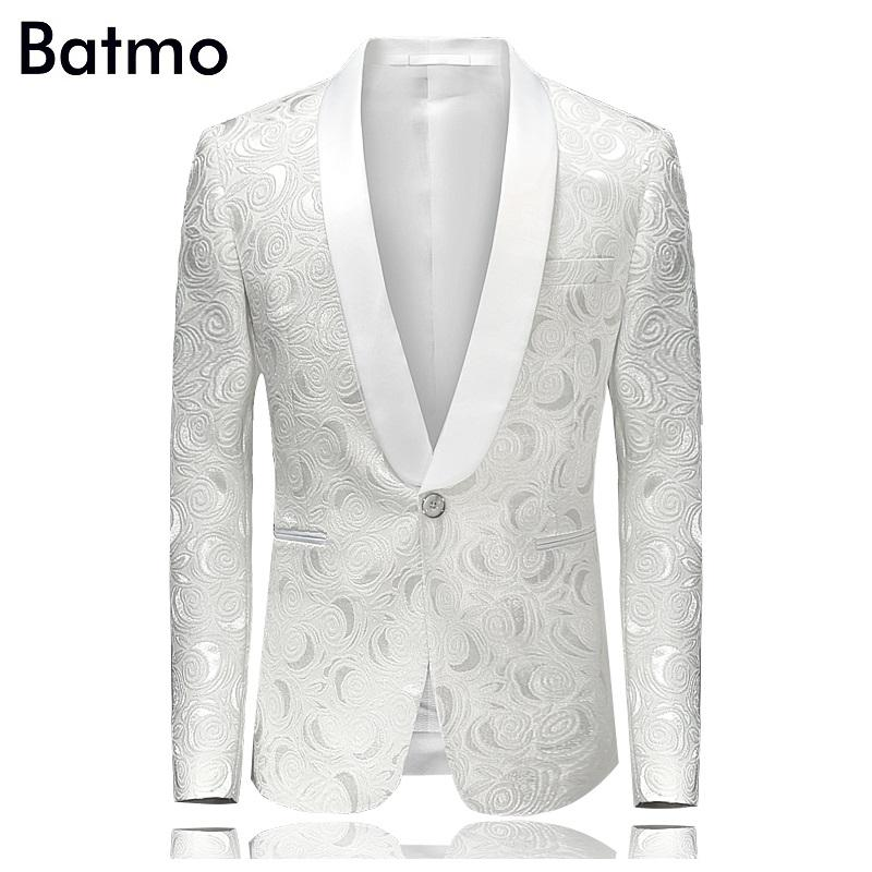 All'ingrosso 2016 nuovo arrivo autumnwinter stampato Uomo vestito casual Blazer Blazer For Men Blazer Nightclub Uomini Plus Size M-3XL