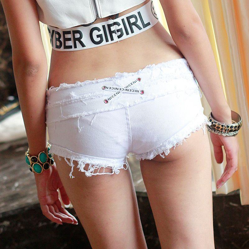 2017 Hot Sexy Vintage Bikini Women Jean Denim Booty Shorts Femme ...