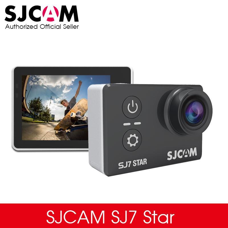 "Original SJCAM SJ7 Star 4K 30fps 2.0"" Touch Screen Remote Ultra HD Ambarella A12S75 30M Waterproof Sports Action Camera Car DVR"