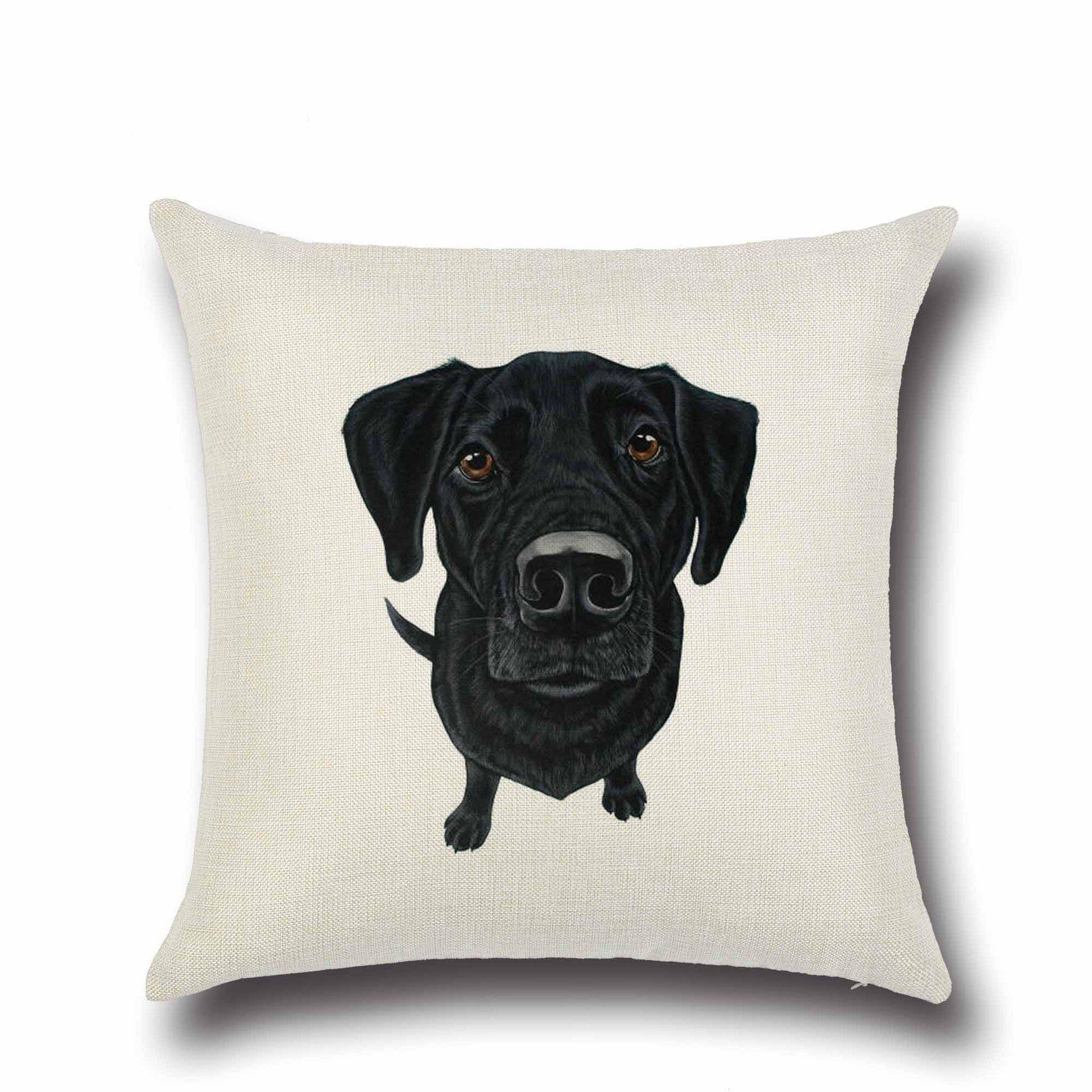 Fashion Animal Cushion Cover Dog For Children Decorative Sofa
