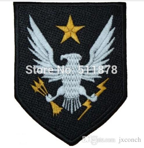 "4"" Halo Reach Noble Team Crest TV MOVIE Series Uniform punk rockabilly applique halloween costume iron on patch"