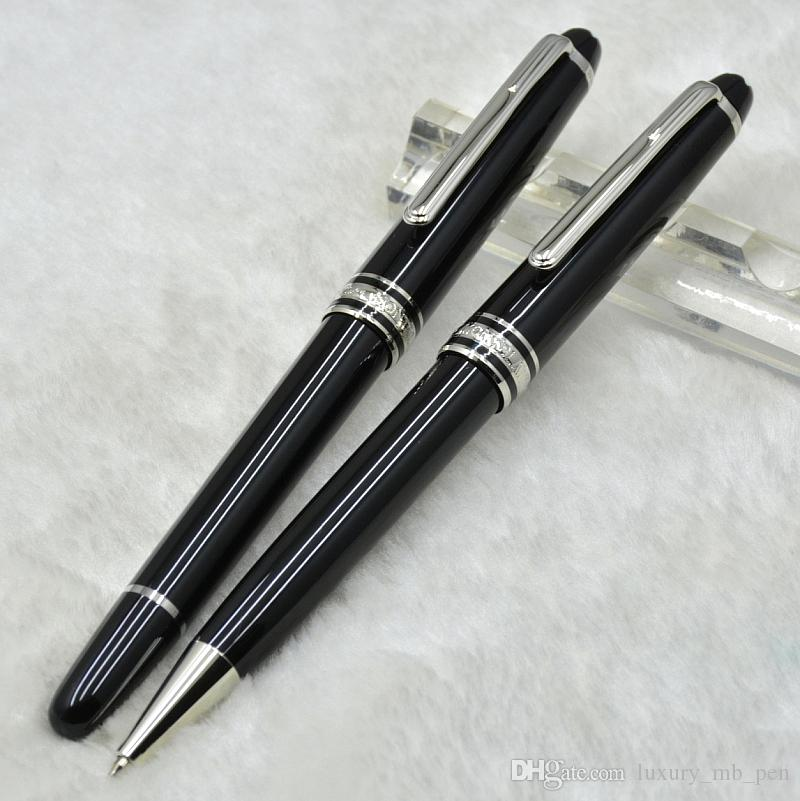 Hot sale Luxury Msk-163 Classic Black Resin Roller ball pen Ballpoint pen Fountain pens Stationery school office supplies with Serial Number