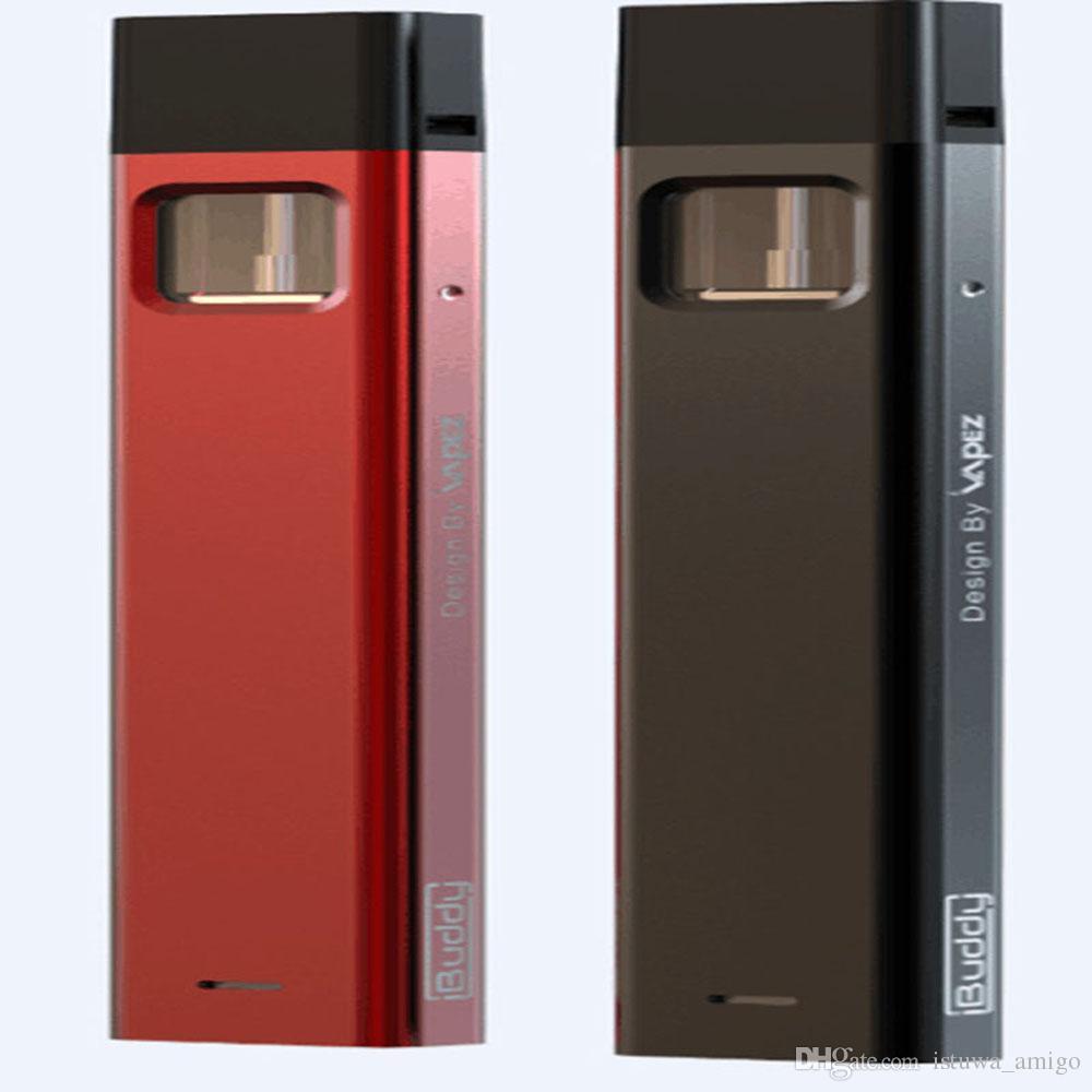 Buddy BPod 310mAh Slim electronic cigarette kit 1.0ml replaceable tank vaporizer pen Power-remind Smoking Aluminum Alloy muticolor