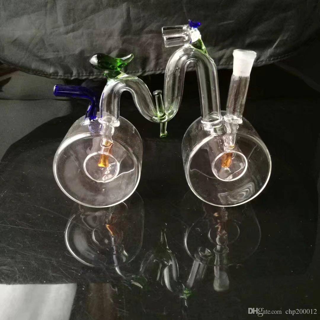 유리 봉 유리 물 파이프 석유 굴착 최신 완벽한 전문 생산 투명 유리 흡연 물 담뱃대 액세서리 완벽