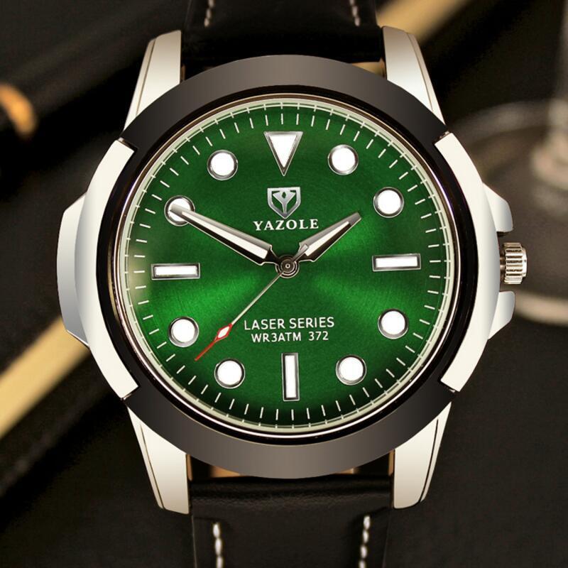 2017 Top Brand Luxury Famous Yazole Wrist Watch Men Wristwatch Male Clock Hodinky Quartz-watch Relogio Masculino Sport Watch