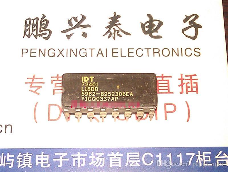 IDT72401. IDT72401L15DB. 5962-8952306EA. IDT72401L15D / 64X4 ALTRI circuiti integrati FIFO, doppio pacchetto ceramico 16 pin in linea / CDIP16