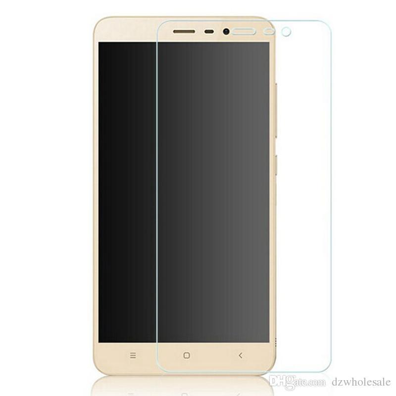 Top Quality 9H 0.26mm HD Premium Vetro Temperato Per Xiaomi M2S / Mi3 / Mi4 / Redmi2 / Mi Nota / Rosso Mi / Redmi Note Pellicola per Schermo 100 Pz / lotto Spedizione Gratuita