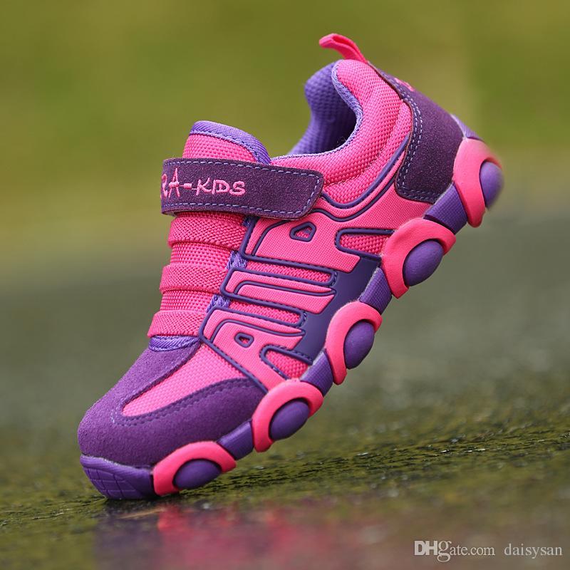 Primavera Outono Crianças Sapatos Meninas Tênis Para Meninos Sapatos Esporte Malha Respirável Estudante Ourdoor Sapatos Para Sneakers Da Escola