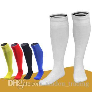 Free Shipping Children's Long Sleeve Soccer Socks Thicker Towel Bottom Children's Sports Socks Aerobic Dance Multicolor Running Socks