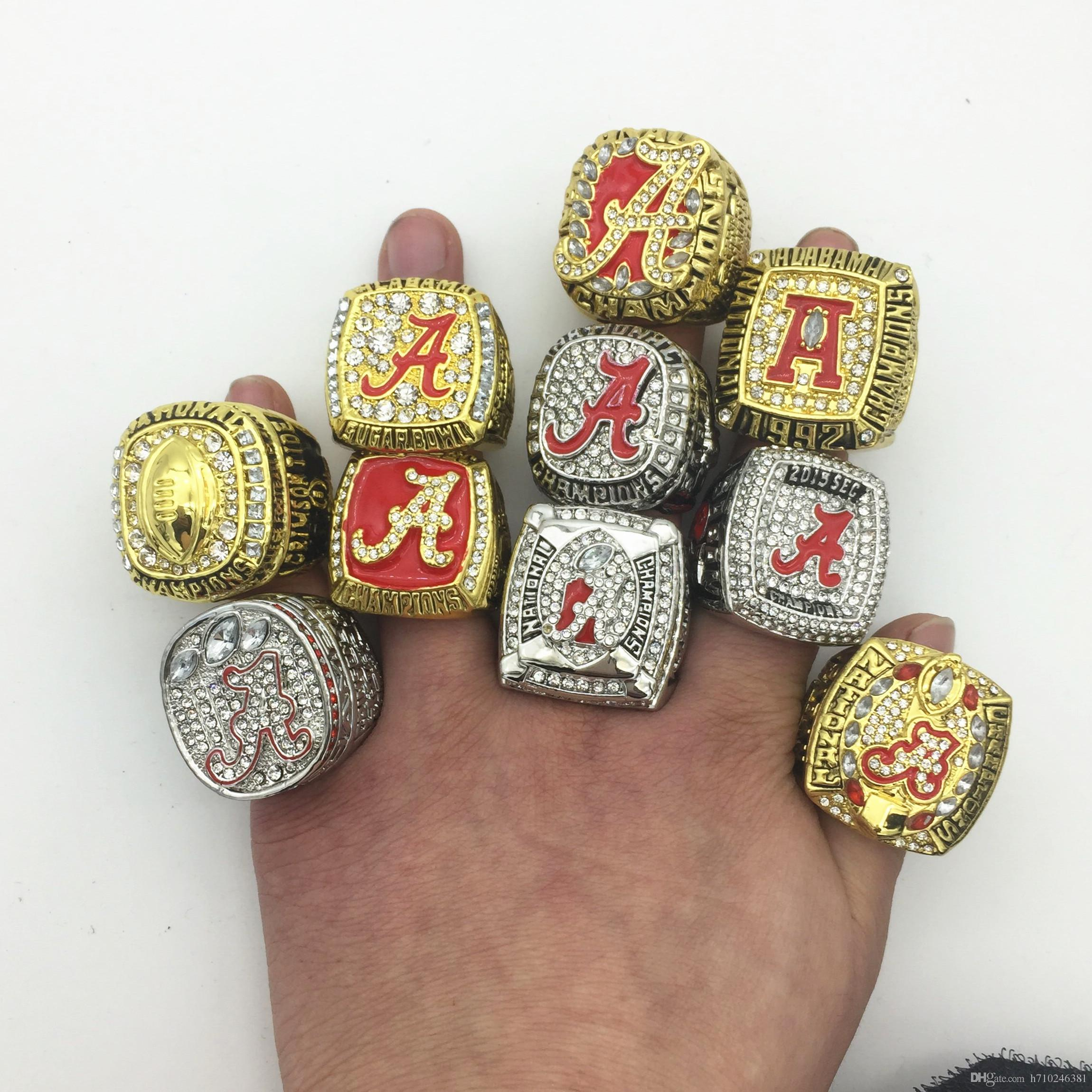rings ring tide ncaa alabama crimson championship national image products product