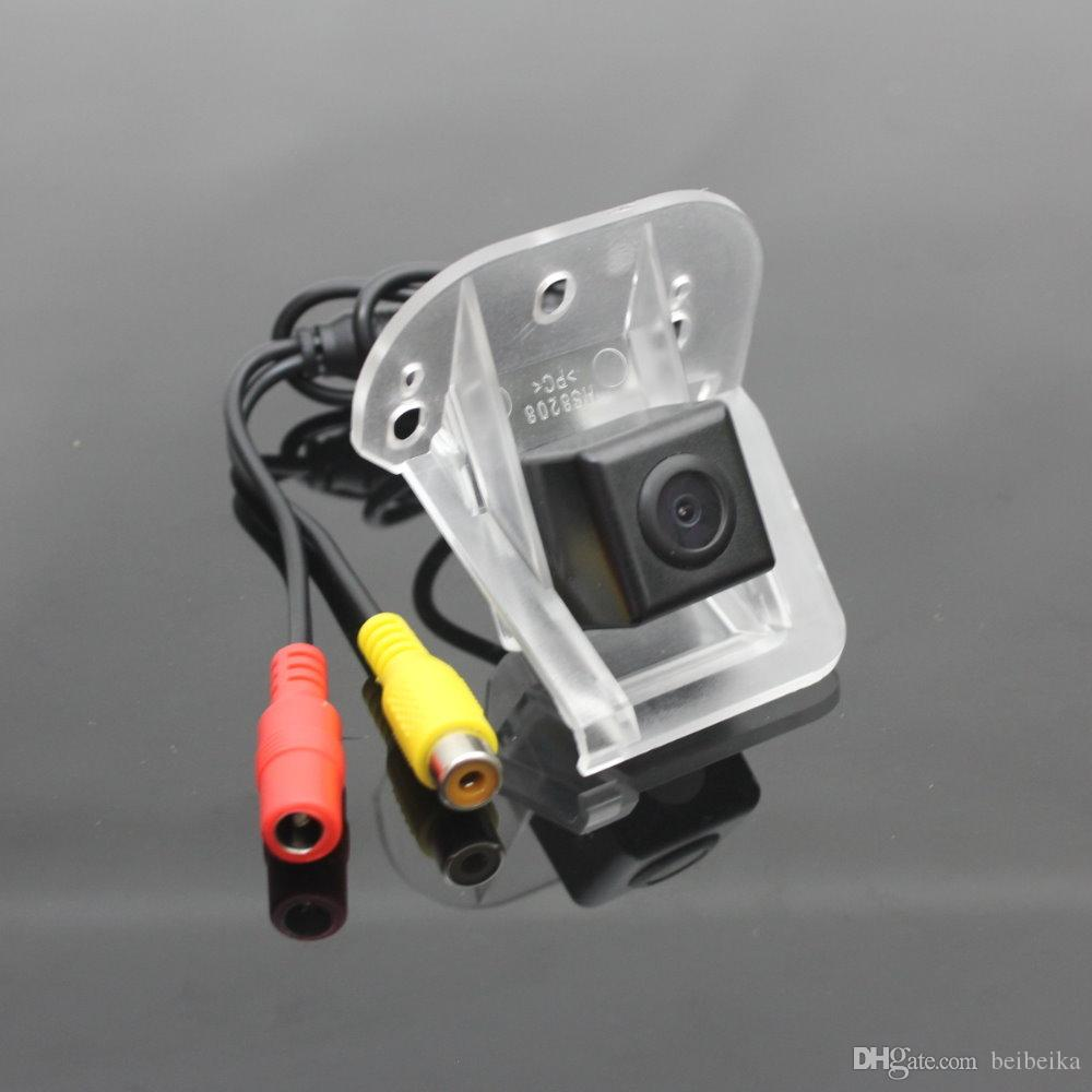 Car Reverse Rear View Camera For HONDA Elysion Back Up Camera / HD CCD RCA NTST PAL / Reverse Hole OEM