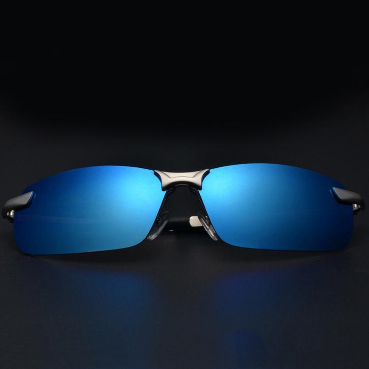 Оптово-Новый 2016 Поляризованные солнцезащитные очки Мужчины Марка Прямоугольник Polaroid солнцезащитных очков Мужские вождения ВС очки Мужчина для