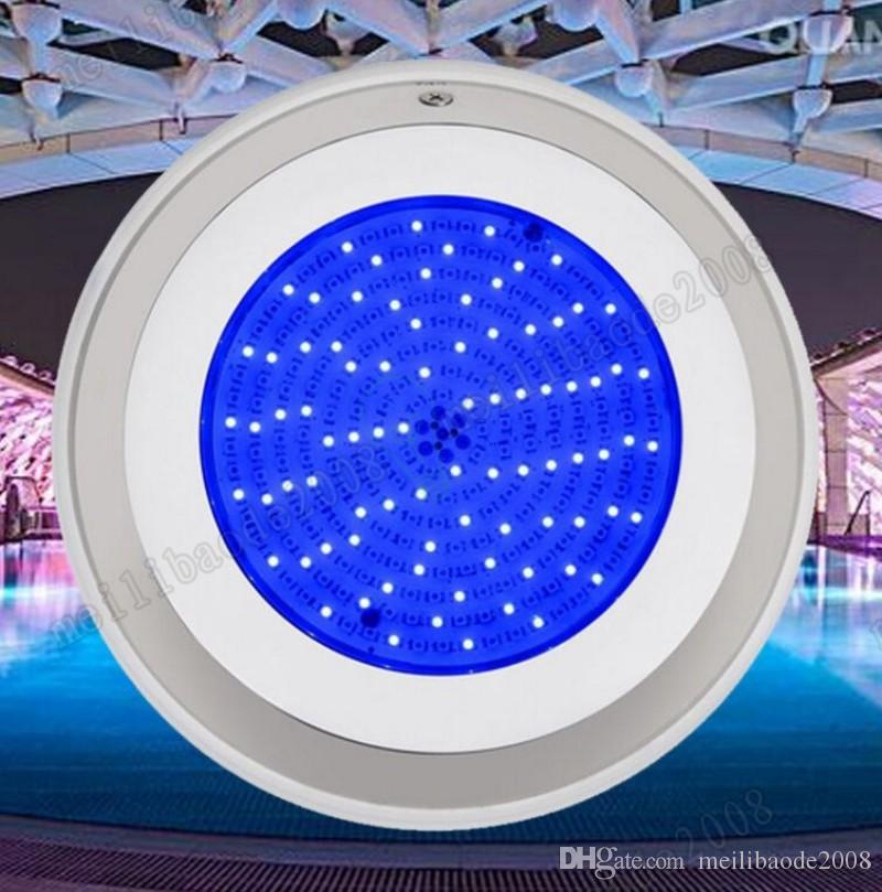 2017 NEW CE RoHS LED Swimming Pool Spa Lights 252 LEDs 18W RGB Multi-color 12V Underwater free shipping MYY