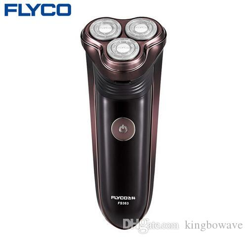 Flyco professional Latest cool styling men's electric shaver razor 3D Floating blade rotating rechargeable electric Shaver FS363