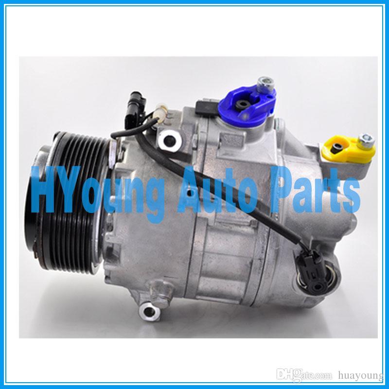 compresseur de climatisation auto Calsonic CSE717 pour BMW X6 3.5i 7 série 2008- 64529205096 64529185147 64529195974