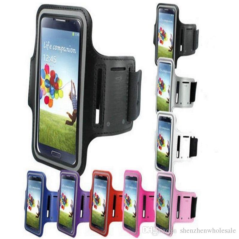 دائم الجري الرياضية gym شارة الذراع الفرقة حالة تغطية الحقيبة حقيبة ل الهاتف الخليوي الهاتف الذكي سامسونج غالاكسي s5 s4 s3 i9600 i9500 9300