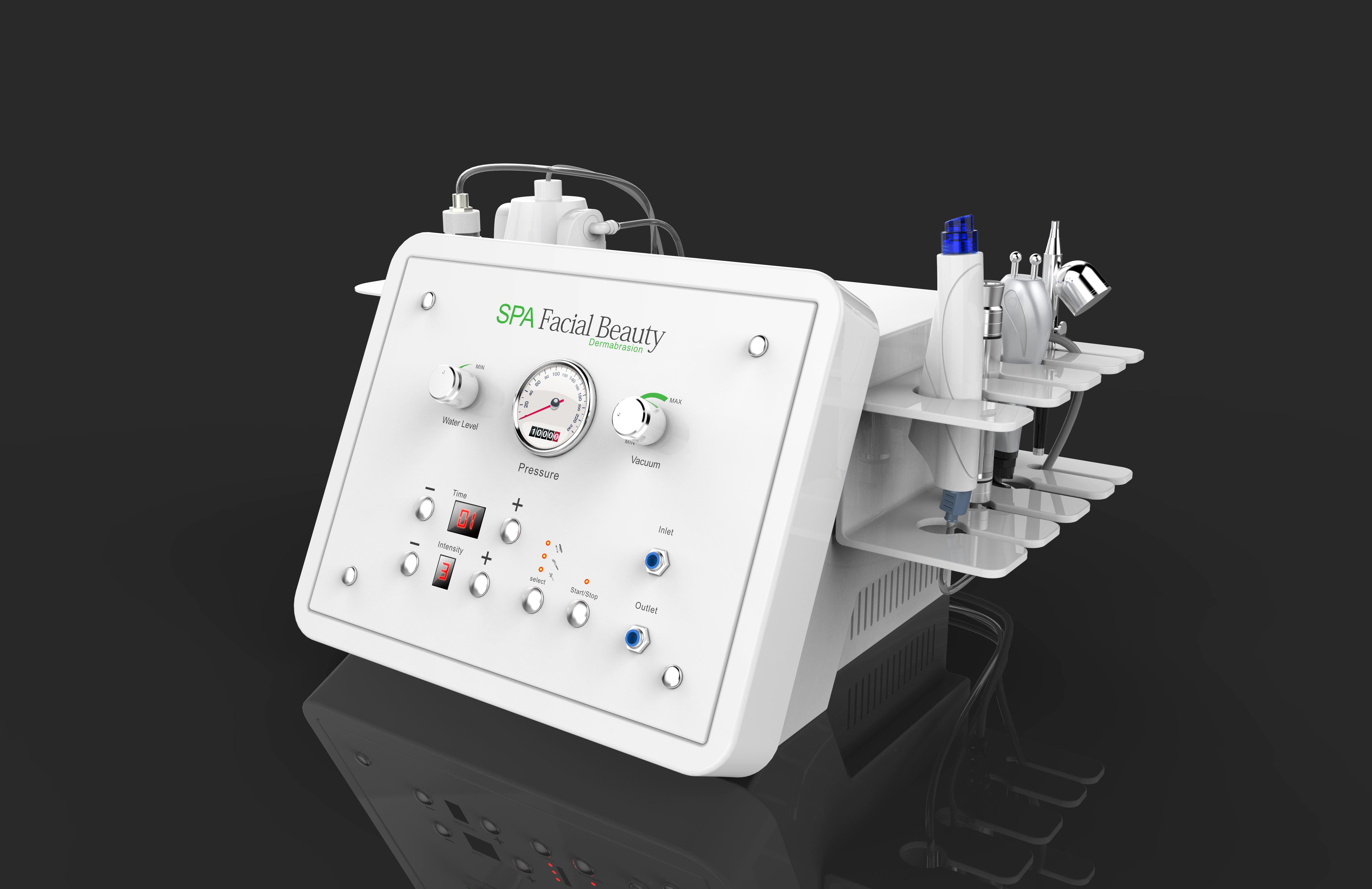 2017 !!! récent Machine sous vide hydra visage hydro microdermabrasion dermabrasion décollement du jet d'oxygène de l'eau