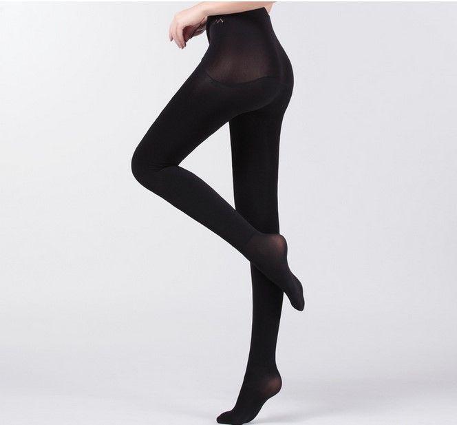Thermal Tights Women 800D 360° Velvet Seamless Apple Hip Stockings Pantyhose