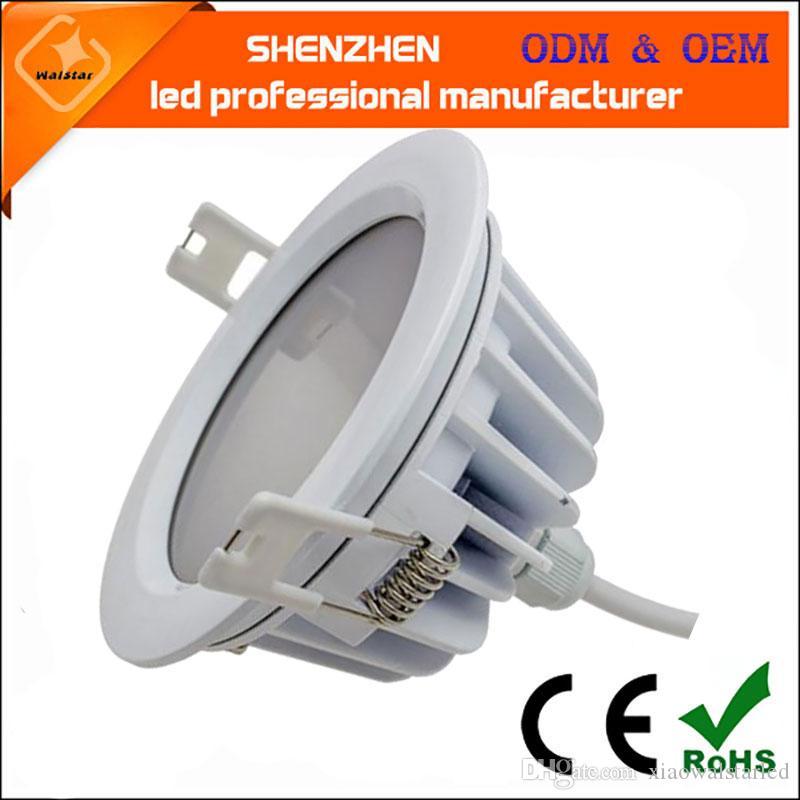 2017 Wodoodporne światło Ściemniane SMD Wodoodporna LED Downlight Ciepłe Biały Natrue Biały Cold White 7W / 9W / 12W / 15W IP65 LED Downlight