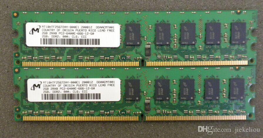 Server memory 4GB (2x 2GB) DDR2 ECC 800MHz PC2-6400E Workstation RAM FOR DELL SC420 SC430 SC440 380N X3200 X3250 ML310 ML310 xw4300 xw4600