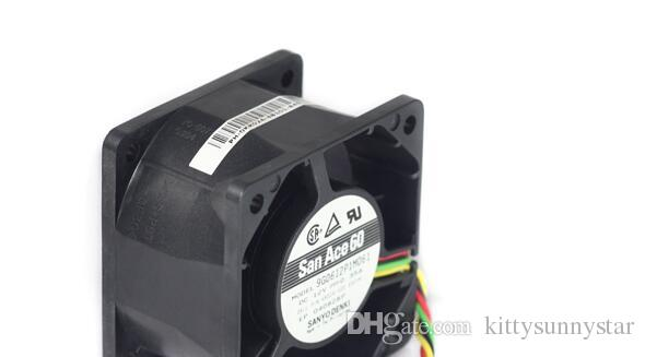 SANYO 6038 9G00612P1M061 12V 0.35A 6cm 4wire cooling fan