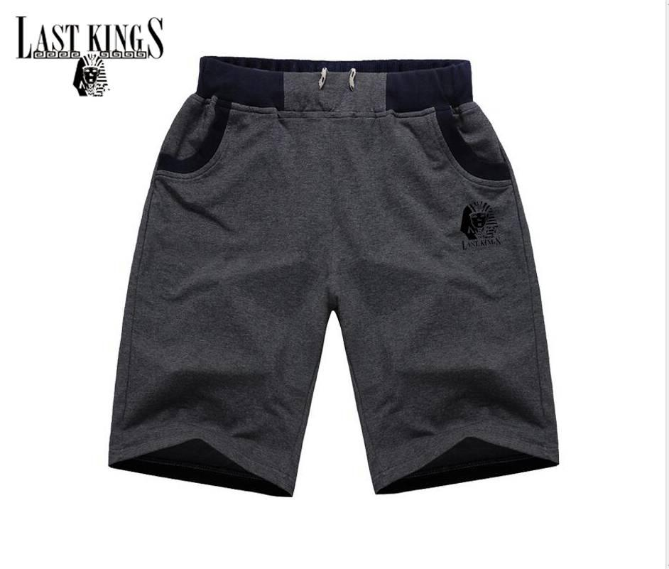 H08# Free shipping s-5xl New Last Kings short Mens clothing Elastic waist pants colorful letter style