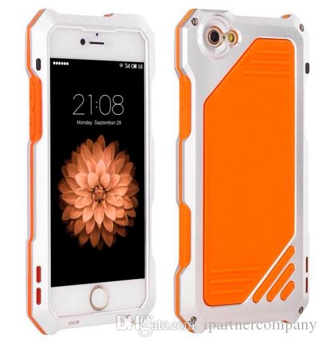 Phone Case For iPhone 6 6S 6 Plus 6S Plus Macro Lens Camera Case Metal Aluminum Waterproof Shockproof Dirt proof phone Cover