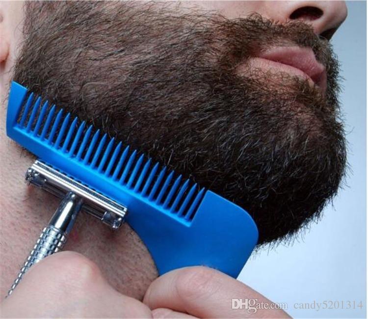 Plantilla de modelado de la herramienta de modelado de Beard Bro. BEAP SHAPER Peine para plantilla Herramientas de modelado de barba 10 COLORES ENVÍO POR DHL A08